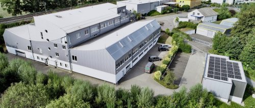 Company building of Jäger Elektrotechnik GmbH